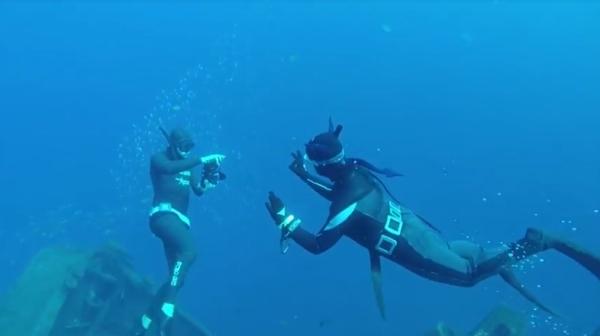 Freediving in Tenerife - freediving3