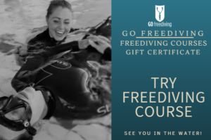 Try Freediving course Gift Voucher