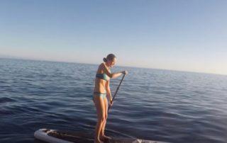 emma paddleboarding