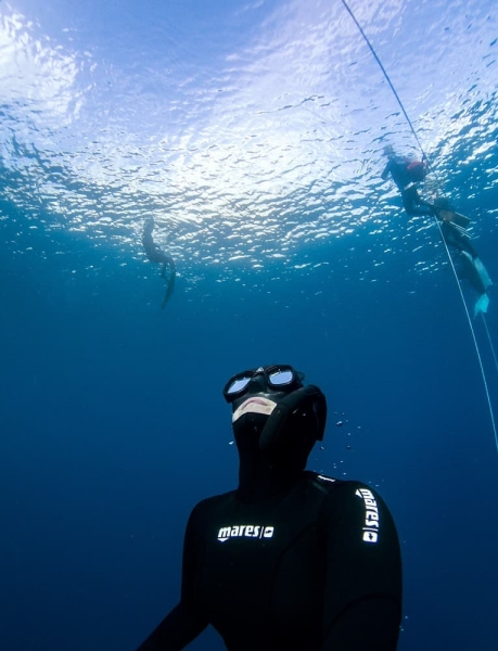 freediving in tenerife