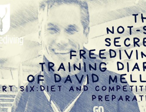 David Mellor – Freediving Training Diary – Diet
