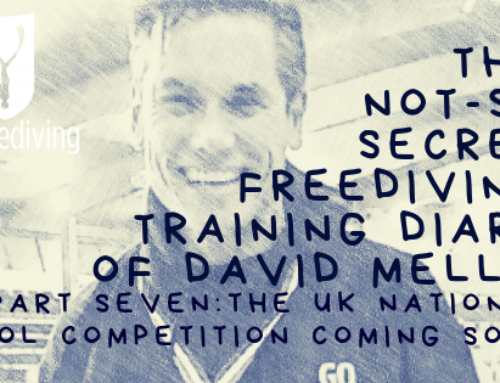 David Mellor – Freediving Training Diary – National Pool Freediving Championships