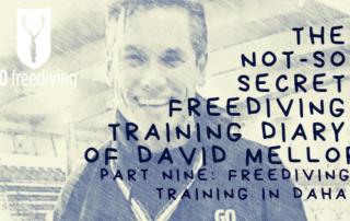The Not-s0-secret Diary of David Mellor freediving training in dahab