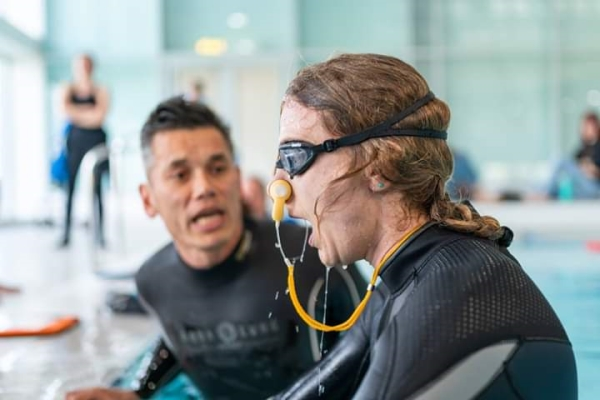 freediving championships - david coaching