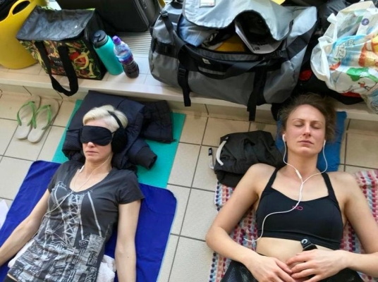 freediving championships - relaxing
