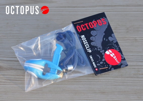 octopus freediving nose clips package