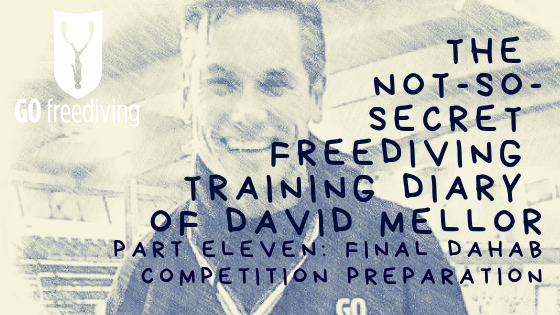The Not-s0-secret Diary of David Mellor dahab competition preparation
