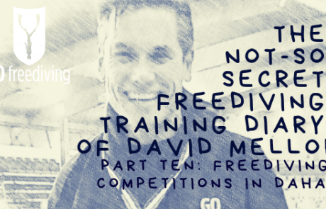 David Mellor Diary freediving competitions in Dahab