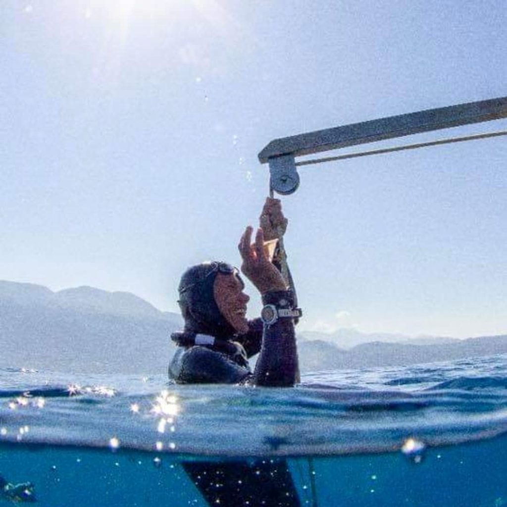 freediving competitions in Dahab