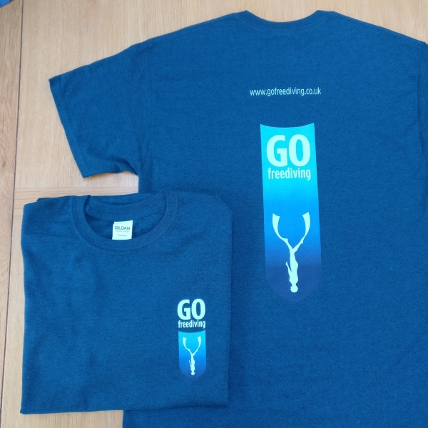 Go Freediving Club T shirt mens
