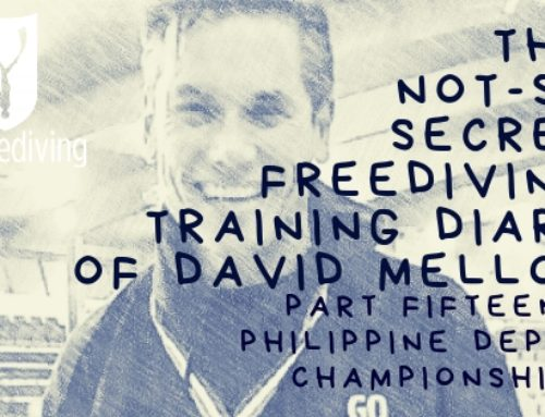 David Mellor Diary – Philippine Depth Championships