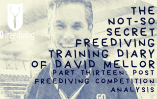 Not-s0-secret Diary of David Mellor post freediving competition analysis