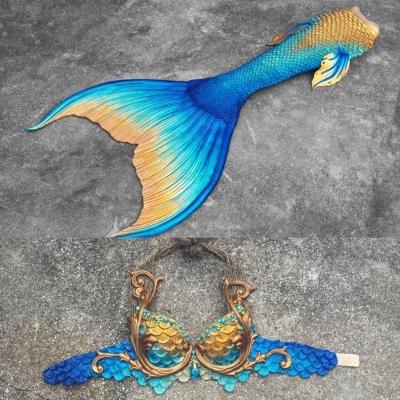 Mermaid Linda Tail design