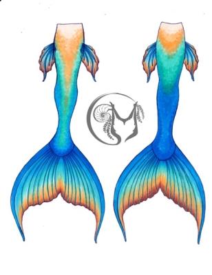 Mermaid Linda Tail design 2