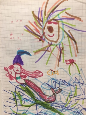 Freedivng jobs proffesional mermaid childhood art 1