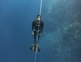 dahab freediving championships - David Mellor ascent2