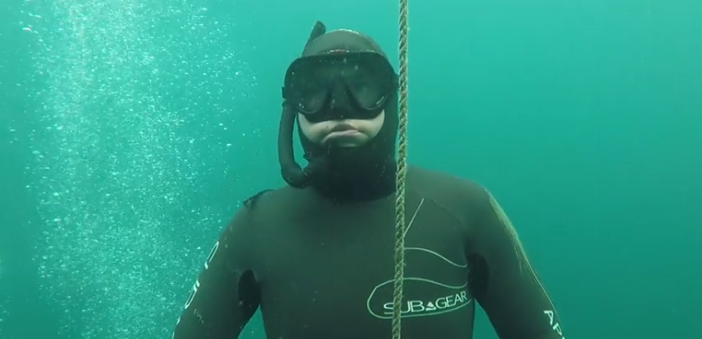 go freediving - freediving course equipment RAID May 2019 - image two