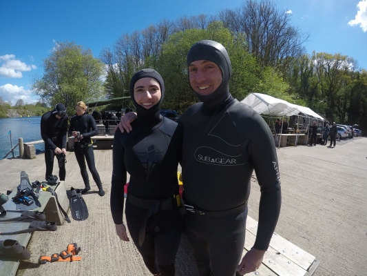 go freediving online freediving course - getting ready