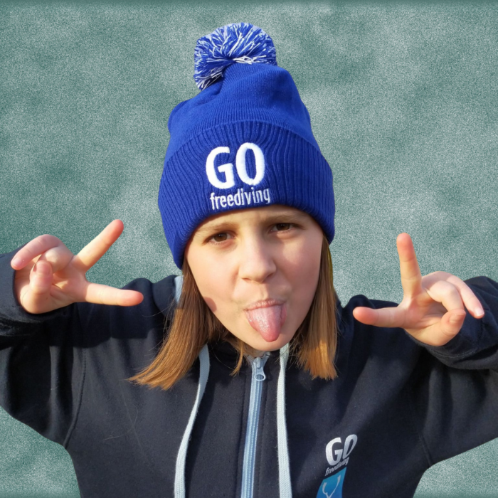 Go Freediving Beanie - Bright Royal 3