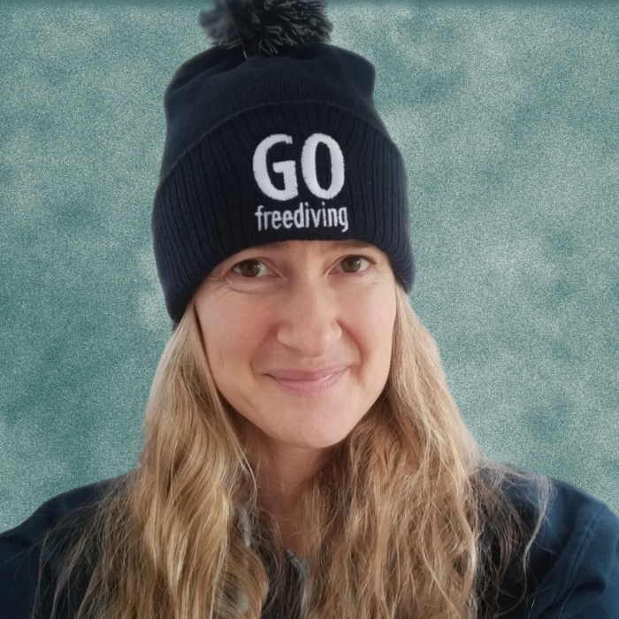 Go Freediving Beanie - French Navy 1