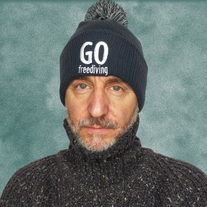 Go Freediving Beanie - French Navy 2