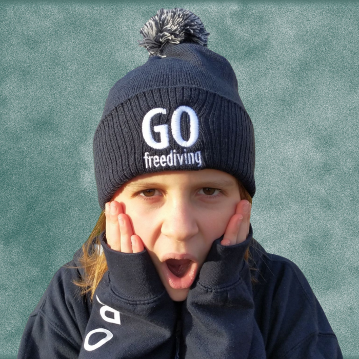 Go Freediving Beanie - French Navy 3