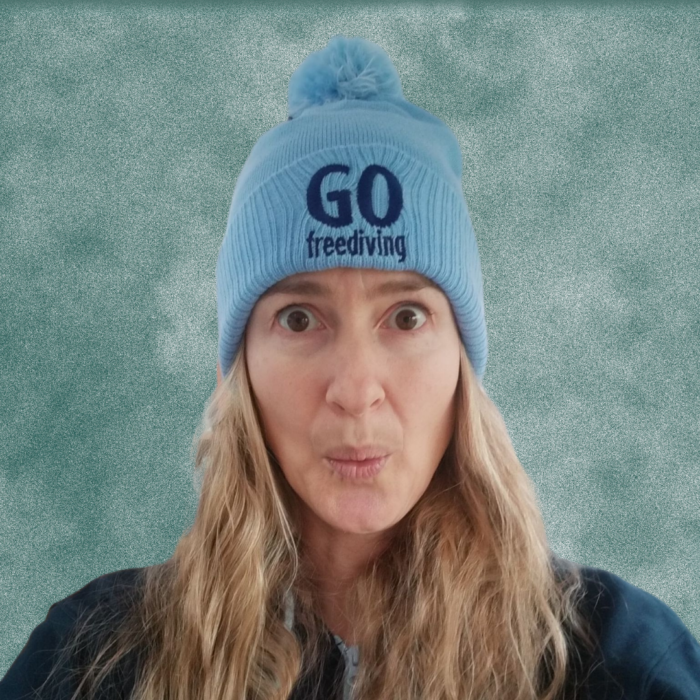 Go Freediving Beanie - Sky Blue 1