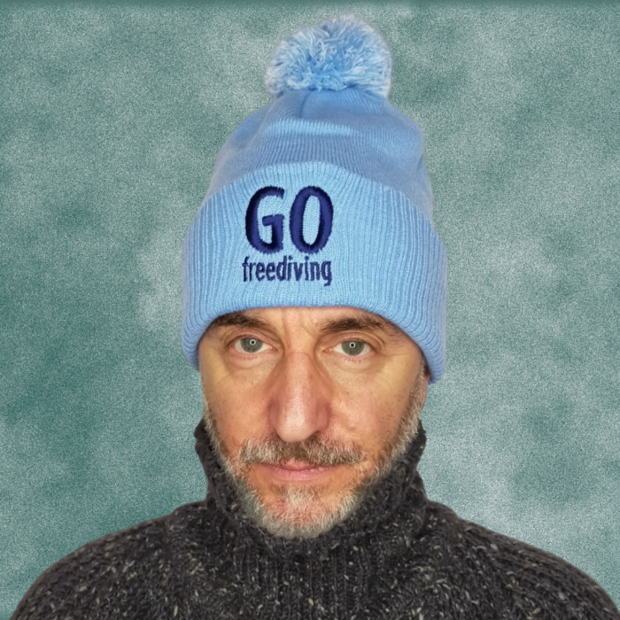 Go Freediving Beanie - Sky Blue 2