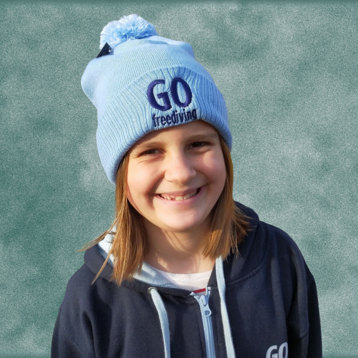 Go Freediving Beanie - Sky Blue 3