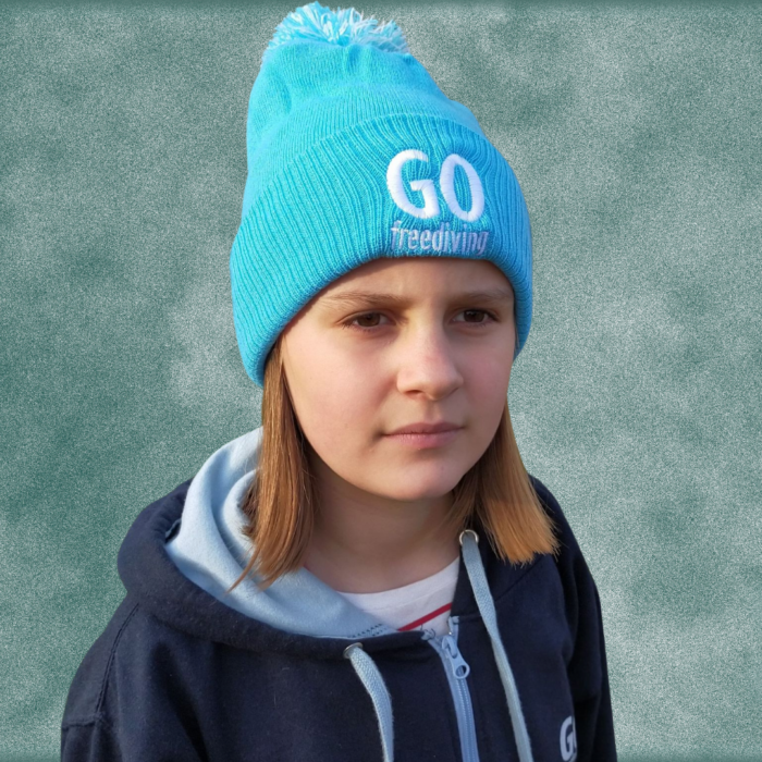 Go Freediving Beanie - Surf Blue 3