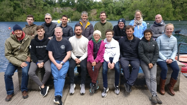 Go Freediving - learning to equalise on a freediving course - group photo
