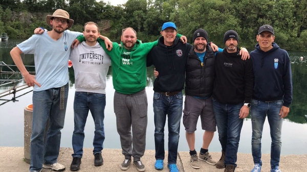 go freediving - learning to equalise - Group Photo
