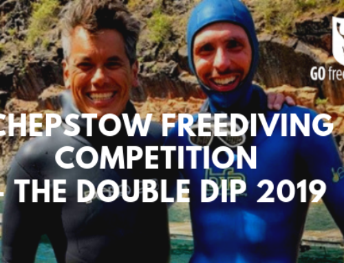 Go Freediving Does The Double at the Chepstow Freediving Double Dip!