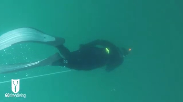 Advanced courses in freediving -go freediving - open water6