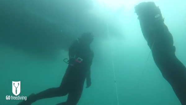 Advanced courses in freediving -go freediving - open water7