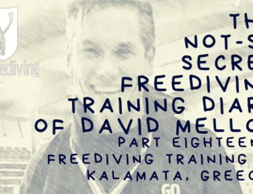 Freediving Training in Kalamata, Greece