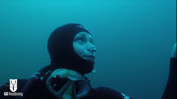 freediving in a quarry - go freediving - vobster6