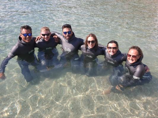 David Mellor - Aida world freediving championships - teamgb1