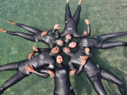 David Mellor - Aida world freediving championships - teamgb2