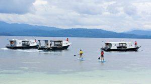 go freediving - freediving in indonesia - murex bangka resort sup