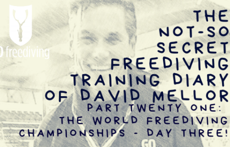 The world freediving championshipsday3