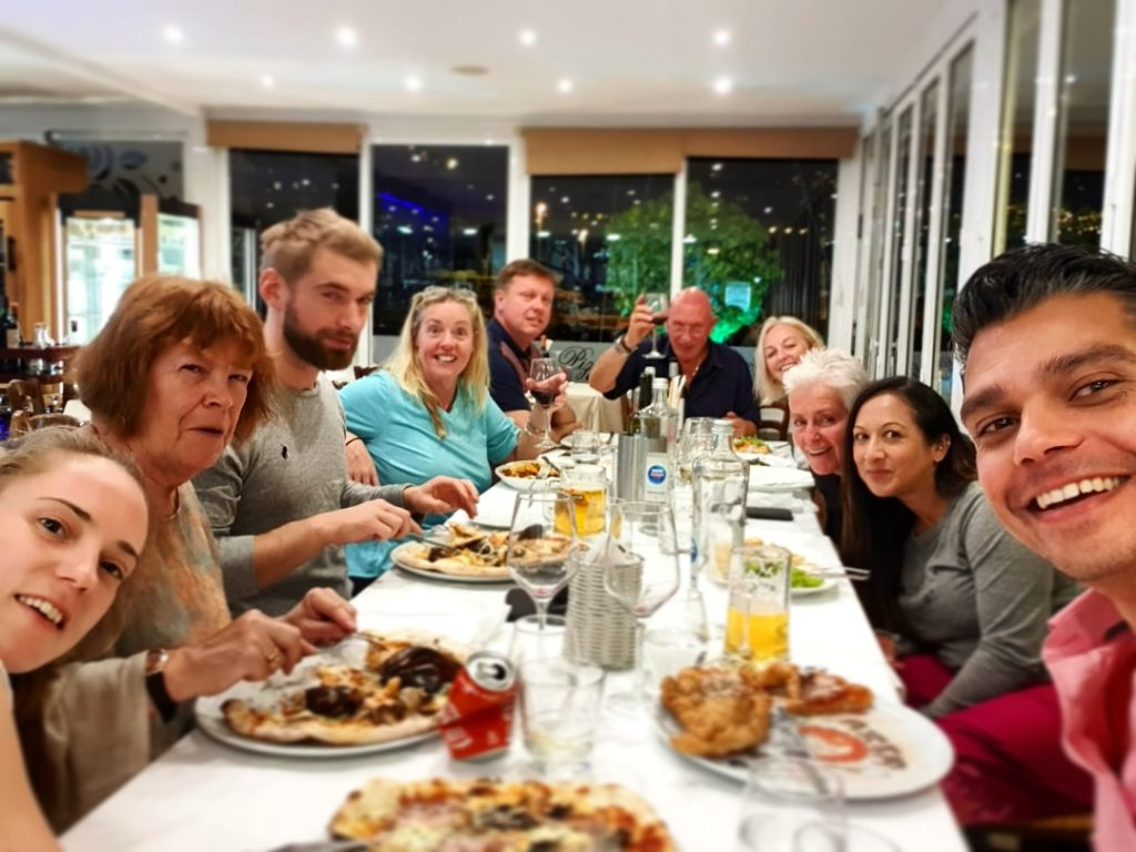 Freediving Camp - dining