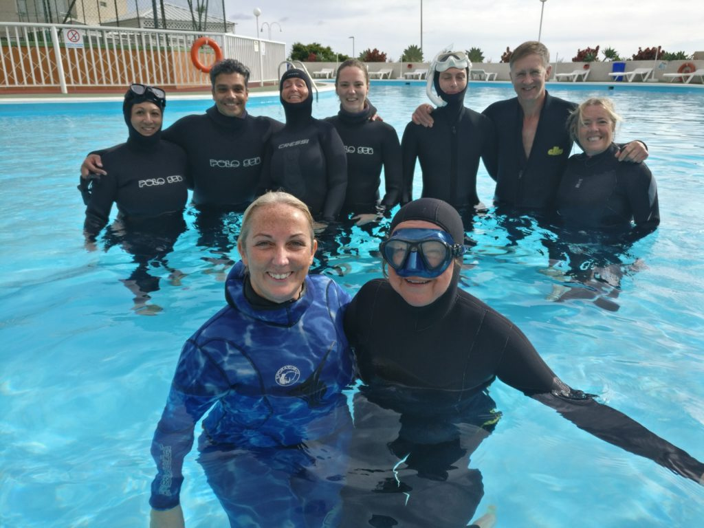 Freediving Camp - pool training