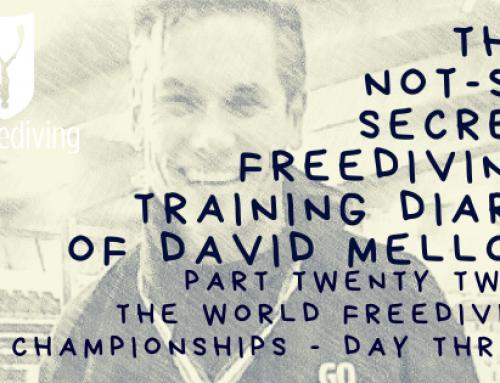 World Aida Freediving Championships 2019 – Day Three