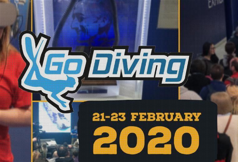 Dive Show Exhibition GO Diving The Ultimate Dive Show