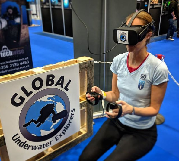 go diving show - vr