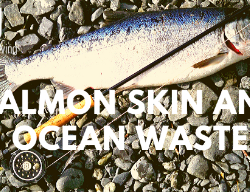 Salmon Skin And Ocean Waste.