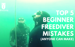 beginner freediver mistakes go freediving