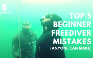 beginner freediver mistakes go freediving