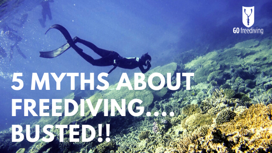 myths about freediving - go freediving